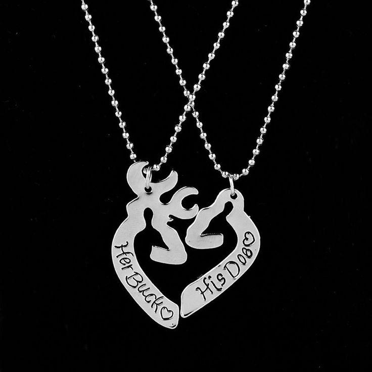 61 Best Couple Necklaces Images On Pinterest Couple Necklaces