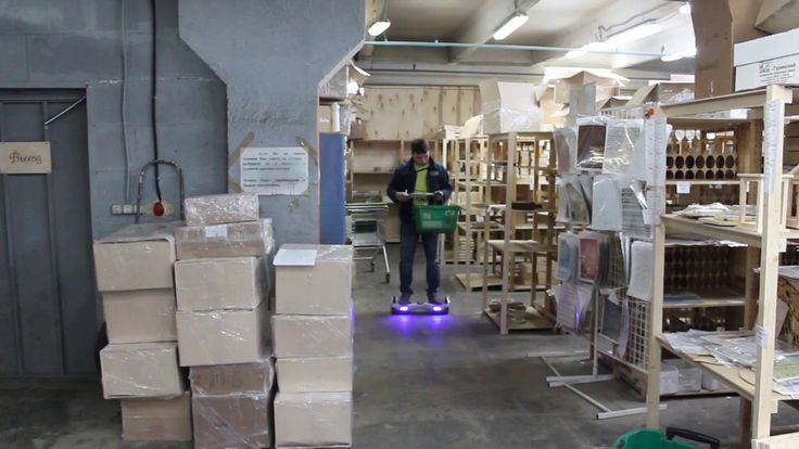 Ускорение работы кладовщиков на складе
