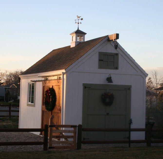 Outdoor storage & garden shed inspiration from boxwoodavenue.com | via Wright Sheds