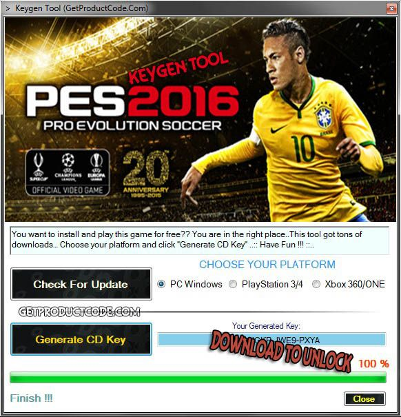 PES 2016 Free CD Key Generator PES 2016 STEAM Keygen PES 2016 Steam Keys Free PES 2016 Steam Product Key Generator PES 2016 Activation PES 2016 CD Code PES 2016 License