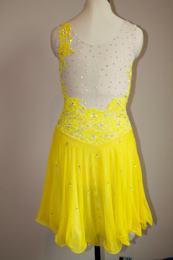 Ice Dance Dress Competition Foxtrot Dress by SkatingDressbyKelley