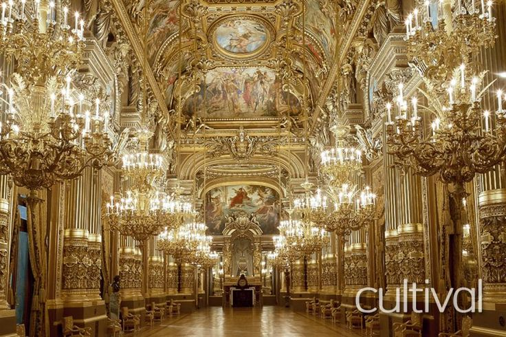 Who has not dreamt of being locked up in this Palace of a thousand secrets, such as the famous Phantom… of the Opera?  Led by a tour guide, you will be amazed by the rich architecture and decor of the Palais Garnier with Tourboks!