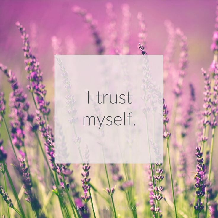 3 Minute Meditation + Affirmation: I trust myself. Reconnect to your inner wise self and strengthen your trust in yourself and your decisions.
