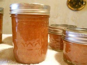 Peach Butter Recipe