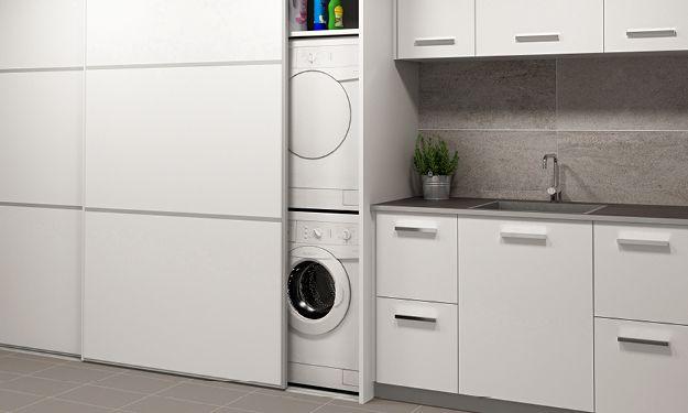 Kodinhoitohuone osaksi kylppäriä – Laattapiste KylpyhuoneetLaattapiste Kylpyhuoneet