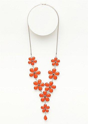 #TS14+ Flower Flurry Necklace #plussize #curvy