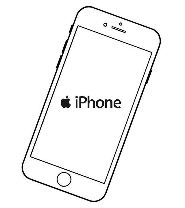 Iphone App Store Coloring Sheet Design Iphone Iphone Apps Coloring Pages For Kids