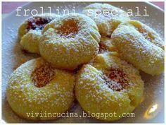 Questa e' una ricetta di Benedetta Parodi tratta da Cotto e mangiato.Sono frollini fragranti che si sciolgono in bocca,veramente buoni,tra i...