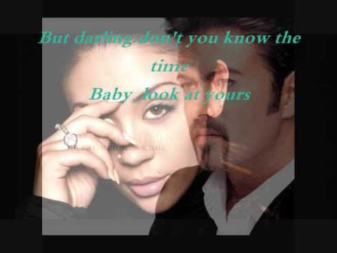 George Michael & Mutya Buena _This is not real love with lyrics // :'-( I should stop listen to this song, it makes me cry for hours =(