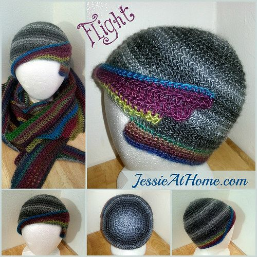Book Cover Crochet Hats : Flight hat free crochet pattern cover square