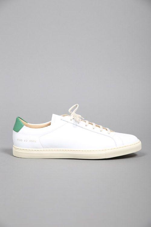 Projets Communs Achilles Top Sneakers Haut - Blanc R4wDt0f