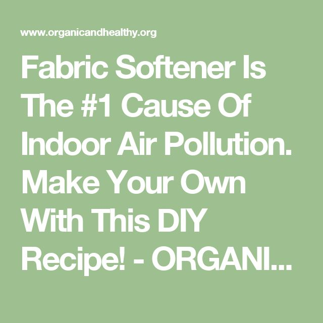17 best ideas about fabric softener on pinterest cleaning with vinegar baking soda cleaning - How to make your own fabric softener ...