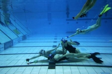 Underwater Hockey...definitely different