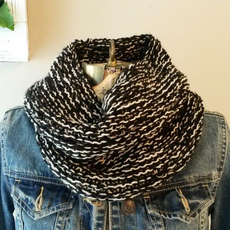 Knit cowl. $20