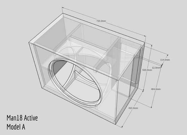 Theater and music subwoofer kit