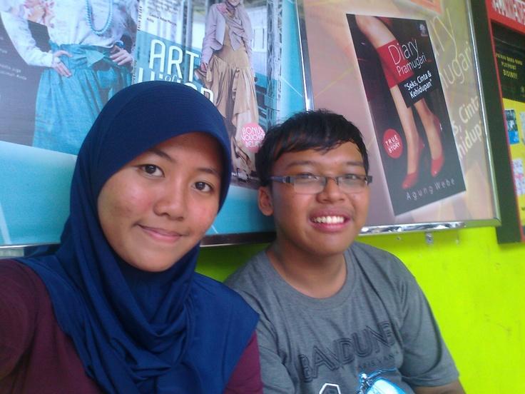 Me and Her (Yanti Mukaromah) 2 :)