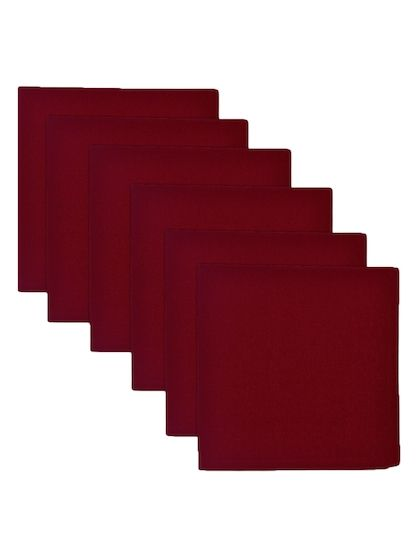 Wine Cotton Napkins (Set of 6)