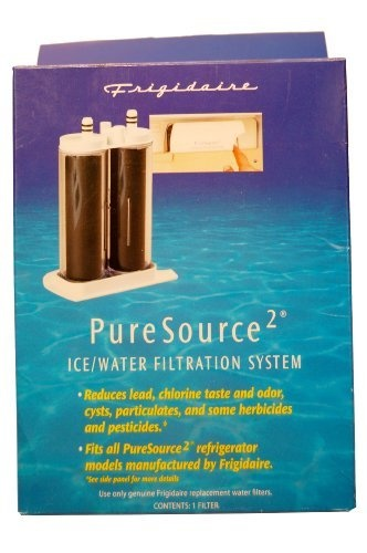 Frigidaire WF2CB PureSource2 Ice And Water Filtration System  1 Pack: Frigidaire's WF2CB PureSource2 ice and water filtration system is the replacement filter for part numbers FC-100 or FC100, WF2CB, SWF2CB, NGFC 2000, NGFC2000, and NGFC-2000. It is also the replacement for Kenmore part numbers 46-9911, 9911, and 9916 for Kenmore refrigerators manufactured by Frigidaire. This filter fits all front-cassette models of Frigidaire refrigerators. Click Image For more Details