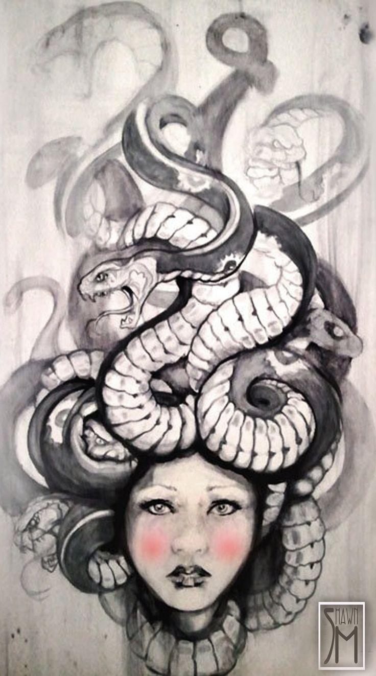 Medusa Artwork Tattoo: 254 Best Medusa Images On Pinterest
