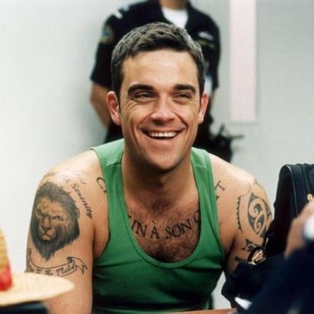Robbie Williams..still love that smile