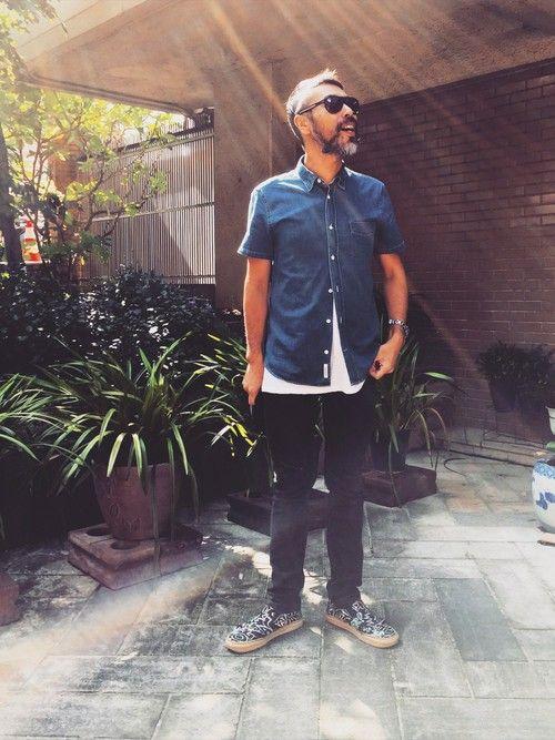YosaKugino Acne Jeansのデニムパンツを使ったコーディネート - WEAR