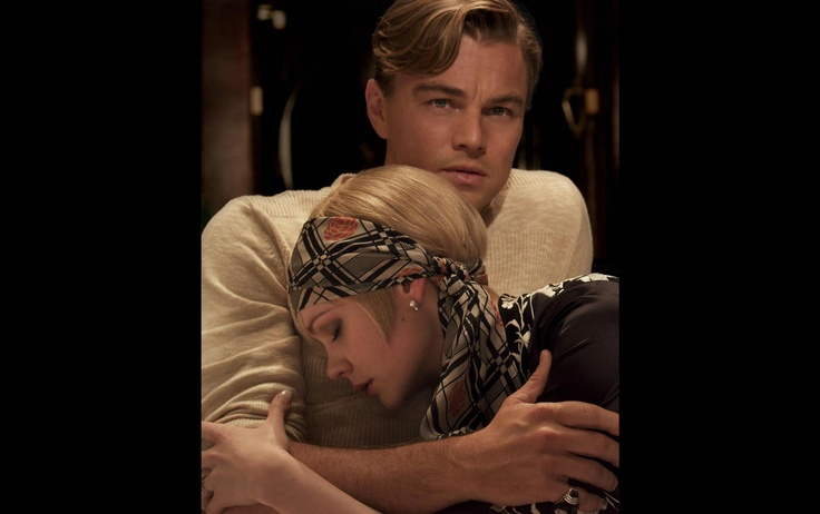 Leonardo DiCaprio as Jay Gatsby and Carey Mulligan as Daisy Buchanan in Warner Bros. Pictures' and Village Roadshow Pictures' drama, 'The Great Gatsby.' A Warner Bros. Pictures release. http://numet.ro/greatgatsby