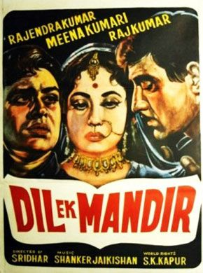 Dil Ek Mandir (1963) Hindi Movie Online in HD - Einthusan Rajendra Kumar, Meena Kumari, Raaj Kumar Directed by C. V. Sridhar Music byShankar Jaikishan 1963 [U] ENGLISH SUBTITLE