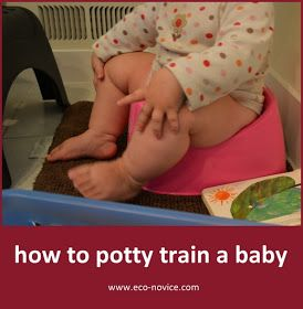 Eco-novice: Early Potty Training
