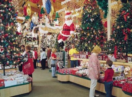 World's largest Christmas store - Bronner's Christmas wonderland