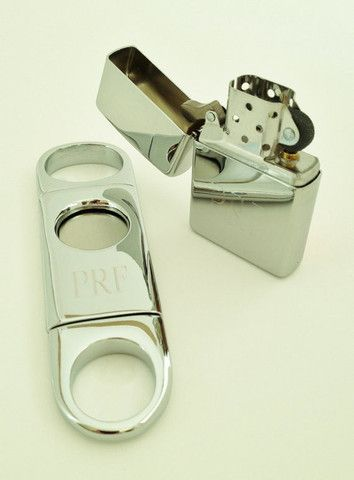 Cigar Cutter And Zippo Lighter Set – The Personal Exchange