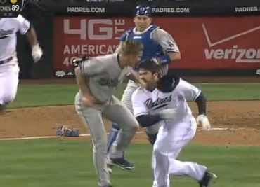 Carlos Quentin charged the mound after being drilled by Zack Greinke, leading to a benches-clearing incident in the sixth inning of Thursday's Dodgers-Padres game. Greinke, a right-hander, suffered a broken left collarbone in the fight that ensued and is likely DL bound. Don Mattingly, steamed after what turned out to be a 3-2 win, said…