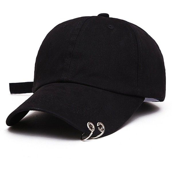 XBeshine BTS Live The WINGS Tour Kpop Iron Ring Hats Adjustable... ❤ liked on Polyvore featuring accessories, hats, adjustable hats, winged hat, cap hats, adjustable baseball caps and ball cap hats