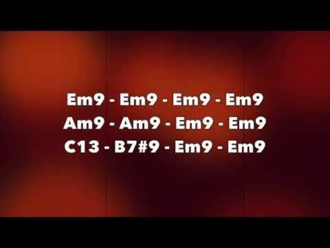 Download track here: http://elitebackingtracks.bandcamp.com/track/groovy-two-chords-2-am-fmaj7-no-bass [NO BASS] Groovy Two Chords with alternating Am and Fm...