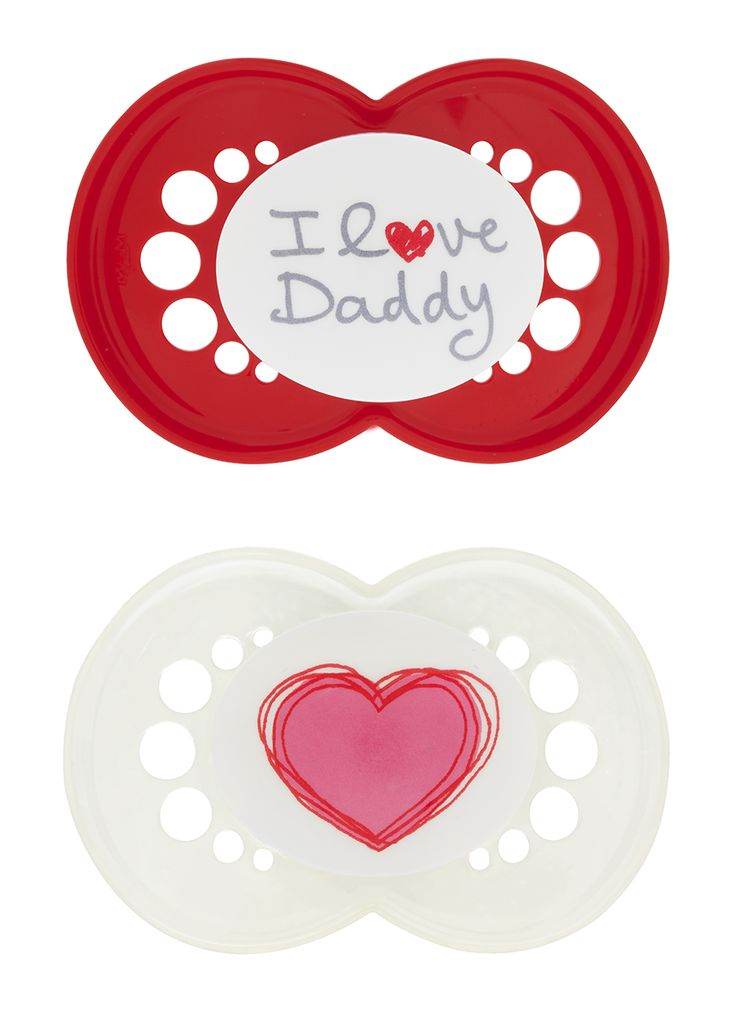 MAM Love & Affection collection, 6+ months. #MAMbaby #pacifiers