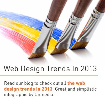 Check out this year's web design trends!   http://www.gcds.com.au/blog/web-design-trends-in-2013  Great infographic by Onmedia   #trends #webdesign #design #infographic