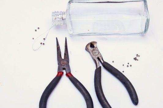 Lustre de vidros reutilizados - Portal de Artesanato - O melhor site de artesanato com passo a passo gratuito