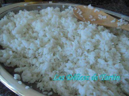Recette riz sushi