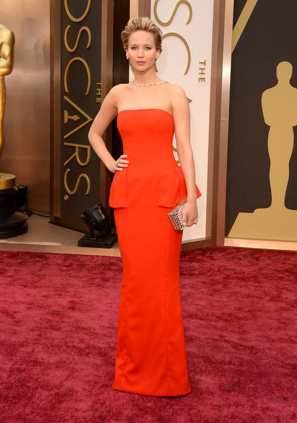 Jennifer Lawrence 86th Academy Awards - 2014   Oscar Nominees   The Oscars 2014 | 86th Academy Awards