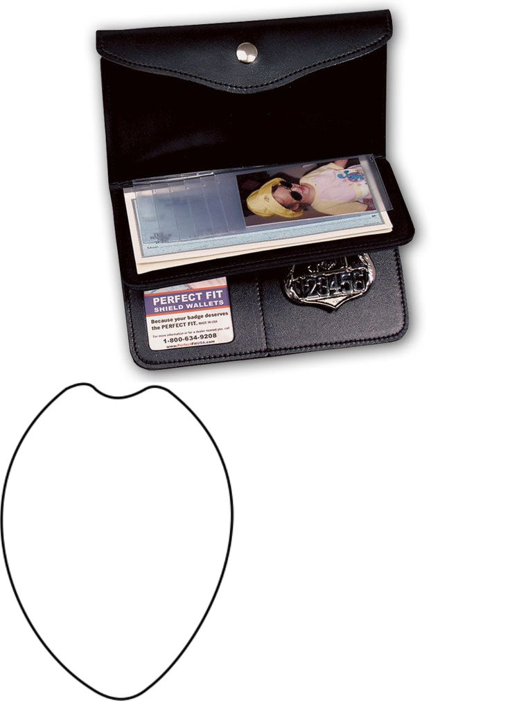ID and Badge Holders 163582: Ladies Badge Wallet By Perfect Fit, Shield Style Badge Cut Out 15 -> BUY IT NOW ONLY: $39.88 on eBay!