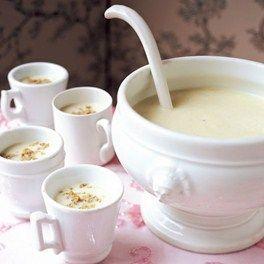cauliflower pistachio soup: French Twists, Recipe Ideas, Pistachios Soup, Dinner Parties, Easy Recipes, Healthy Recipe, Potato Leek Soup, Healthy Food, Soup Recipes