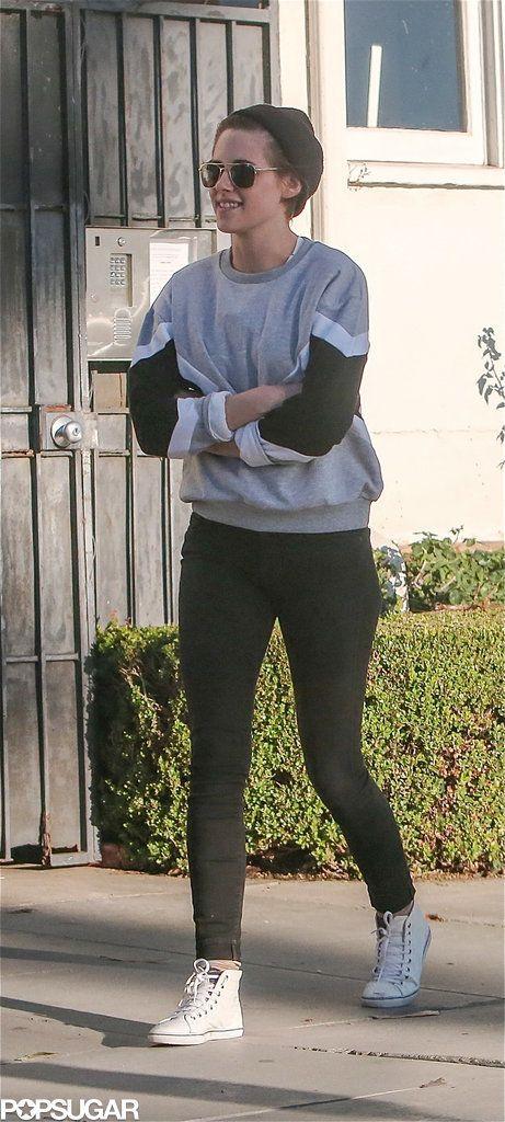 Kristen Stewart Smiling in LA 2014 | Pictures | POPSUGAR Celebrity