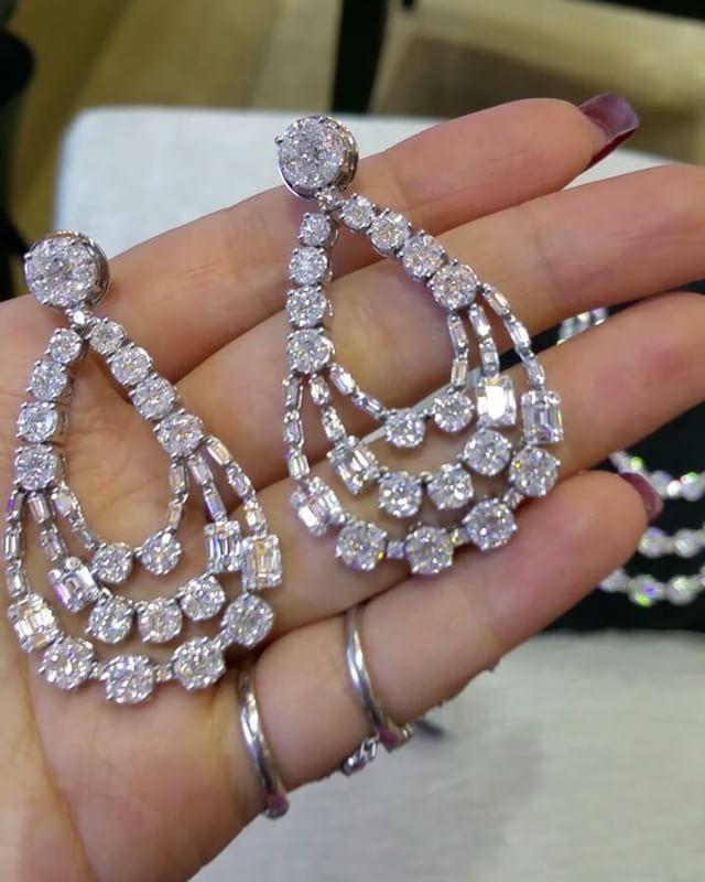 Primus Jewelry #charupetch #diamond #diamondweddingsets #diamondjewellery
