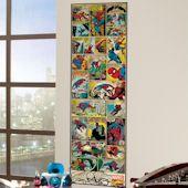 Classic Spiderman Comic Book Wall Panel