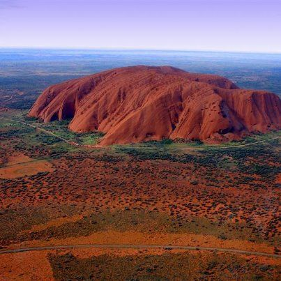 Uluru, (formerly known as Ayres Rock) central Australia