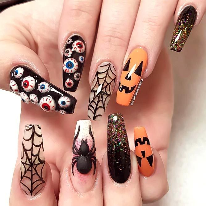 Halloween Nail Art Designs Gallery: Best 25+ Nail Designs Pictures Ideas On Pinterest