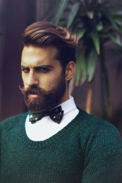 Great solution for men with short beard growth as well as ones who enjoy a balanced look! They are the short beards that appear long. Here is the official medium length beard guide