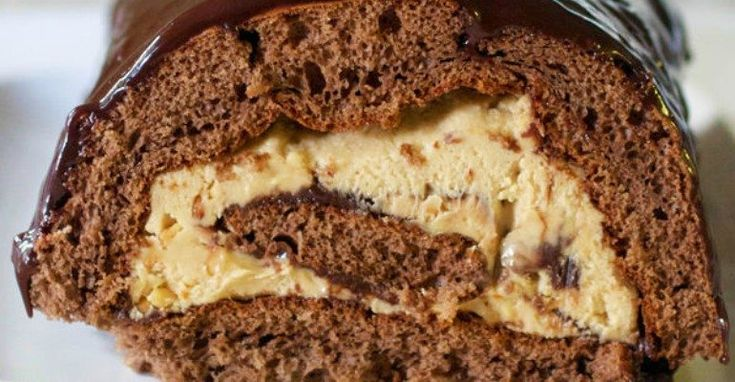 Roll Out The Red Carpet For This Chocolate And Peanut Butter Cake  My husband's favorite flavor combination has always been peanut butter and chocolate, but I think that's a common one...  Argo cornstarch,baking powder,baking soda,Barilla pasta,Bertolli extra-virgin olive oil,Black pepper,Bob's Red Mill,Borden,brown sugar,Campbell's soups,Casserole,Chiquita,chocolate and peanut butter roll,Clabber Girl,College Inn,Cool Whip,crock pot,Daisy sour cream,dessert,Desserts,Dole,Domino…