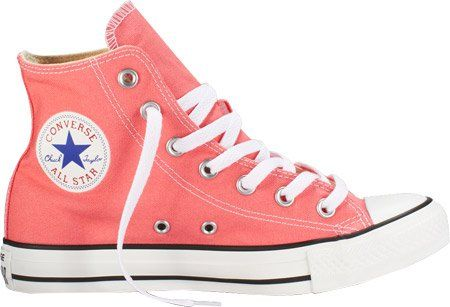 Converse Unisex Chuck Taylor All Star Seasonal Pink Sneaker - 10 Men - 12 Women. Color: CARNIVAL PINK. Smooth metallic cap toe. Rubber-sole. Rubber sole. Closed-toe. Size: 12 B(M) US Women / 10 D(M) US Men. Snake-embossed metallic finish. Leather upper, canvas lining, rubber sole. Brand New. Lace-up. Round toe; lace up. Canvas. Solid.
