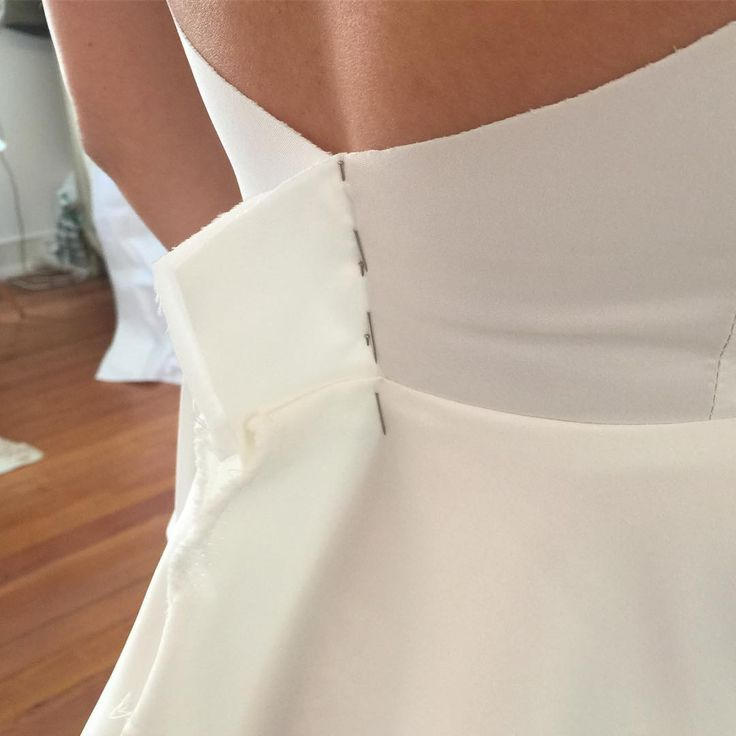 Our brides' dresses start like this!