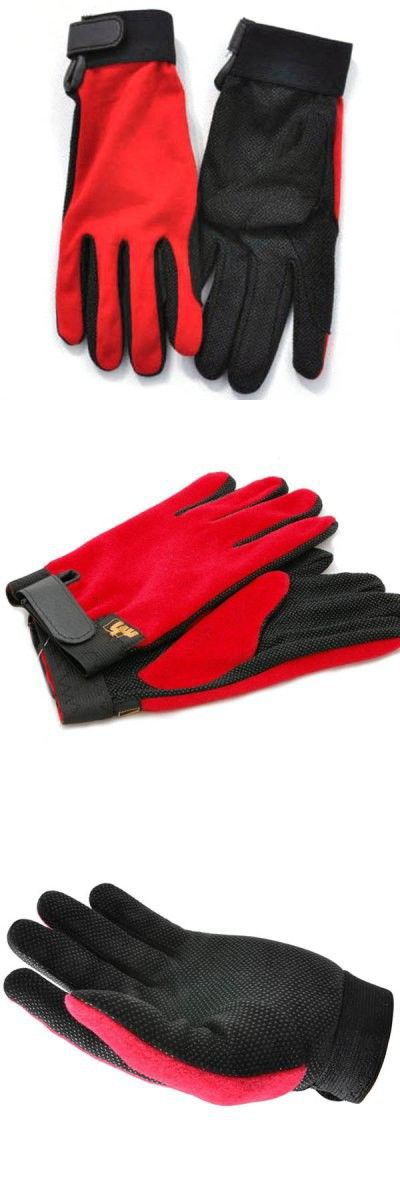 Cycling Gloves | M Size Outdoor Unisex Non-slip Riding Gloves Breathable Climbing Gloves for Summer Outdoor Activity - Red